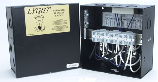LYGHT POWER LPT50BRD 50 AMP TRANSFER SWITCH W/LUGS