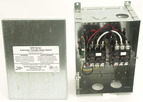 PROGRESSIVE DYNAMICS PD52 50 AMP TRANSFER SWITCH