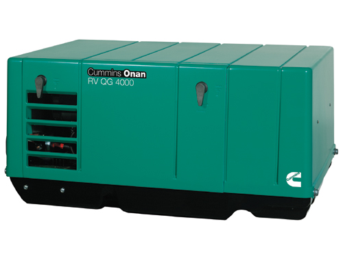 "Cummins Onan 4.0KYFA26100 ""Quiet Gasoline"" RV QG 4000 Watt RV"